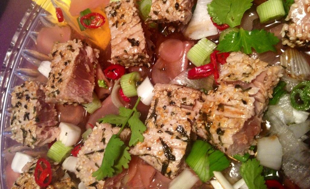 Jamies Sommerküche : Gebratener thunfisch teriyaki gemüse kokosreis u2013 urban jungle